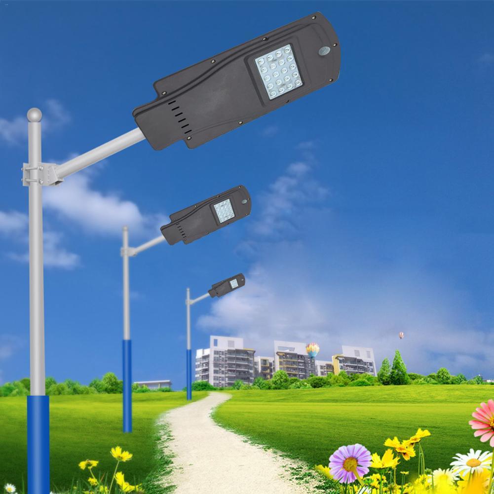 LED Solar Street Light Outdoor Waterproof IP65 Radar
