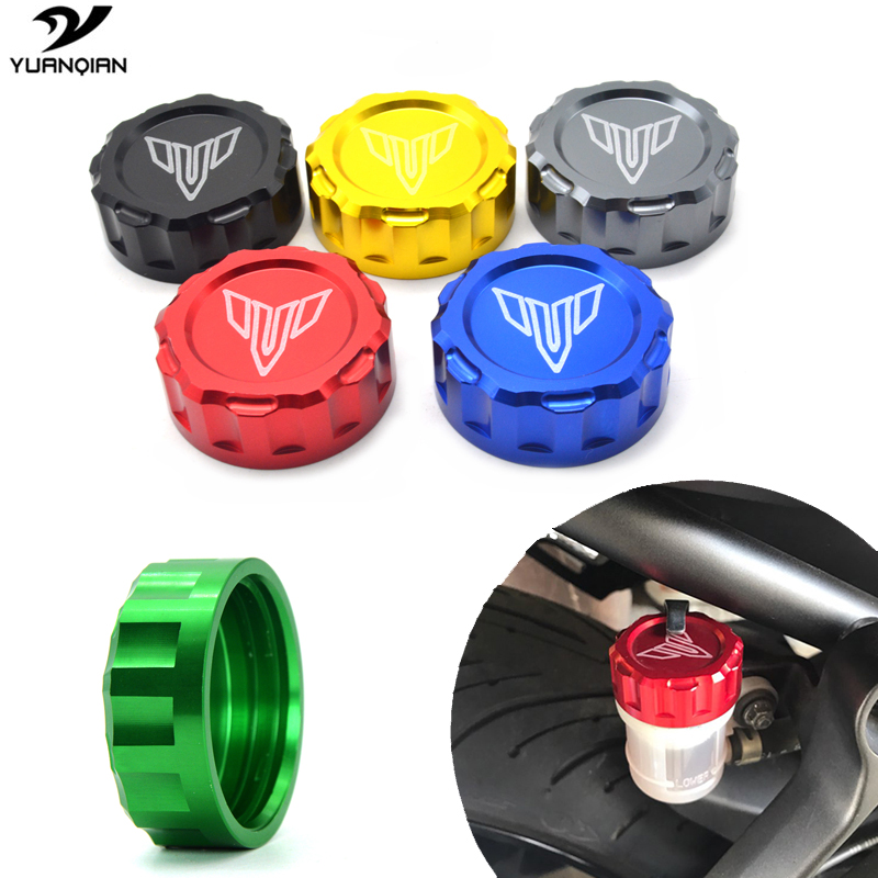 Motorcycle Brake Fluid Reservoir Cap cover For Yamaha MT 07 MT 09 FZ 09 FZ09 MT07 MT-07 MT09 Tracer 2014 2015 2016 2017 14K -17K for yamaha fz 09 mt 09 fj 09 mt09 tracer 2014 2016 motorcycle integrated led tail light brake turn signal blinker lamp smoke