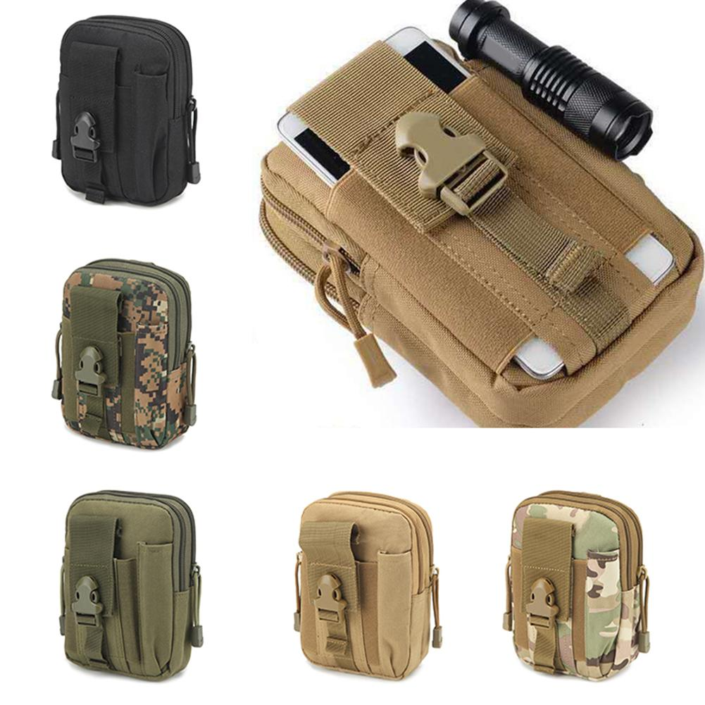 Outdoor Survival Molle Pouch Army Tactical Waist Pack Emergency Tool Bag Waterproof  Belt Waist Packs Leg Bag