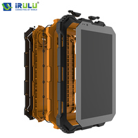 Original iRULU 2G/3G/4G Tablets Android 5.1 Quad Core 1280*800 HD de Pantalla Tarjeta SIM a prueba de Choques Impermeable Dual Levas Nuevo