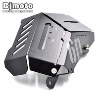 Bjmoto Motorcycle 4colors MT09 FZ09 Aluminum Water Coolant Radiator Side Resevoir Guard Cover For Yamaha MT09