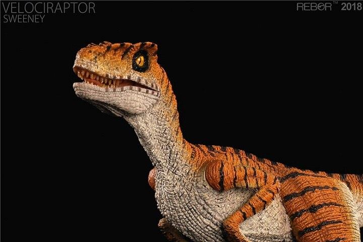 2018 nuevo Velociraptor SWEENEY dinosaurio juguete modelo clásico juguetes para niños con caja al por menor-in Figuras de juguete y acción from Juguetes y pasatiempos    1
