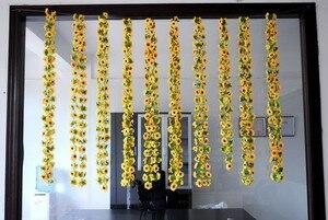 Image 3 - Artificial flowers vine simulation flower cane Sunflower cane Sunflower rattan  home flowers decoration wholesale