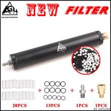 Pcp paintball airforce airsoft filtro de bomba de alta pressão super compressor água óleo separador de filtragem de ar 8mm preenchimento mamilo