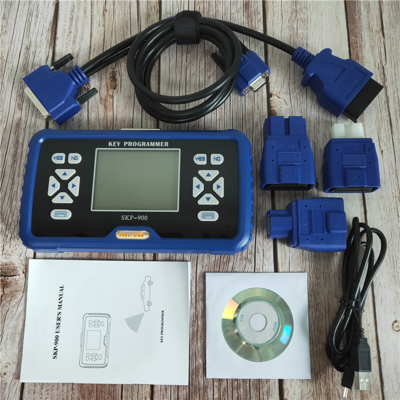 SuperOBD SKP900 SKP 900 Auto transponder remote key programmer Support Almost All Cars Original Latest Version V5.0 SKP 900