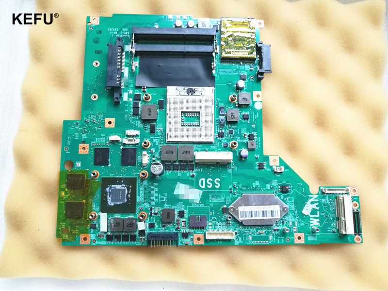 Ordinateur portable Carte Mère MS-16GA Fit Pour MSI GE60 MS-16GA1 Carte Mère DDR3 GT650M Testé avant envoyer