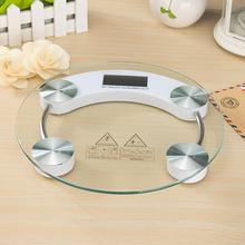 Adeeing Home Mini Tempered Glass Personal High Accuracy Digital Step On Technology Body Weight Scale