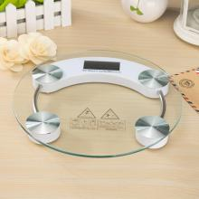 Adeeing Home Mini Tempered Glass Personal High Accuracy Digital Step-On Technology Body Weight Scale