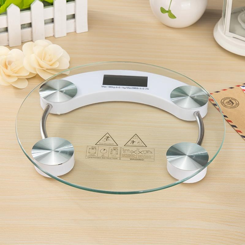 LumiParty Home Mini Tempered Glass Personal High Accuracy Digital Step-On Technology Body Weight Scale-30