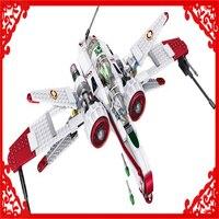 420Pcs Star Wars Figures ARC 170 Starfighter Model Building Block Toys LELE 35004 Figure Gift For