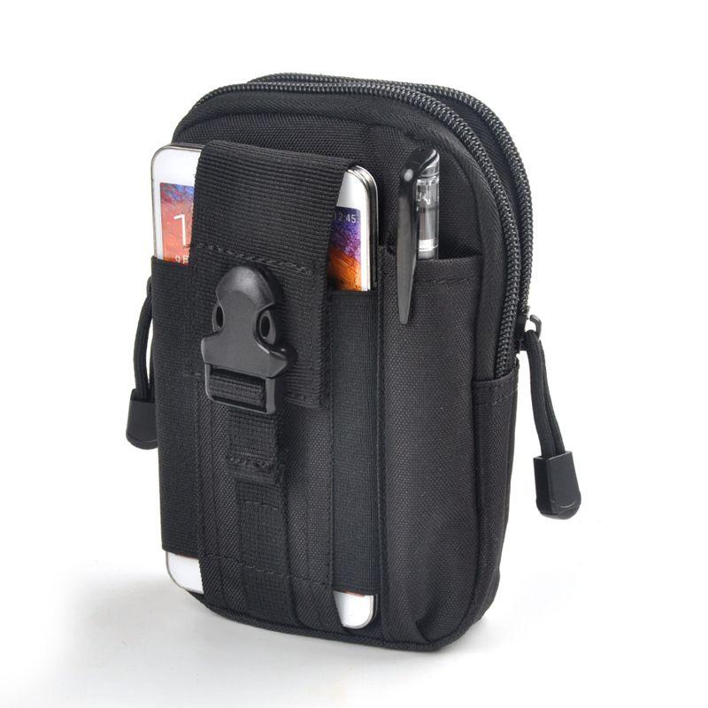 Männer Taille Taschen Männlichen D30 Wasserdichte Military Gürtel Taille Tasche 1000D Nylon Handy Brieftasche Reisetasche Bolsa 2018 Heißer verkauf