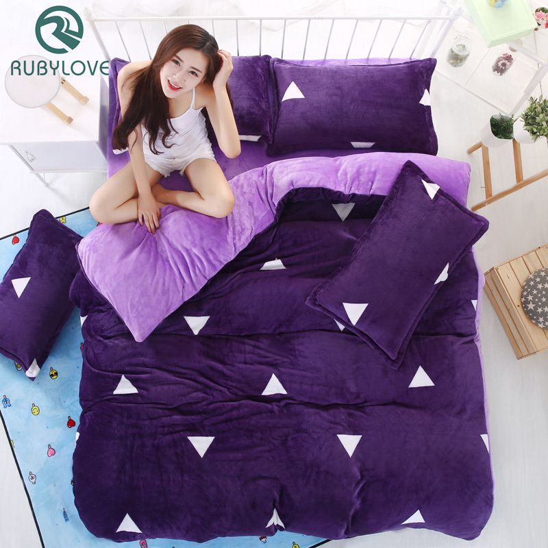 Hot Winter Thickening Of High-quality Flannel Bedding Set Plush Duvet Cover Bedsheet Family Hotel Wedding Bedding SetsHot Winter Thickening Of High-quality Flannel Bedding Set Plush Duvet Cover Bedsheet Family Hotel Wedding Bedding Sets