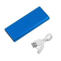 10000MAH Ultra Thin Portable External Power Bank Mobile Phone Battery Charger Power Supply Suitable For IOS