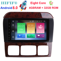 HIFIF Android 8 0 8 Inch Car Radio Player For Mercedes Benz S320 S350 S400 S500