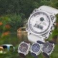Banda de Cuero de moda de Lujo Gran Dial Vintage Reloj de Los Hombres Casual Square Reloj Mujeres Reloj de Cuarzo Vestido Reloj Relogio