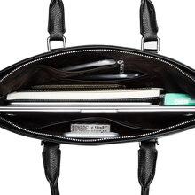 Genuine Leather Laptop Messenger Bag