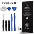 1430 мАч Оригинальное Качество ANTIRR Фирменный Стандарт Батареи Для Apple iPhone 4S Аккумулятор С набор отверток