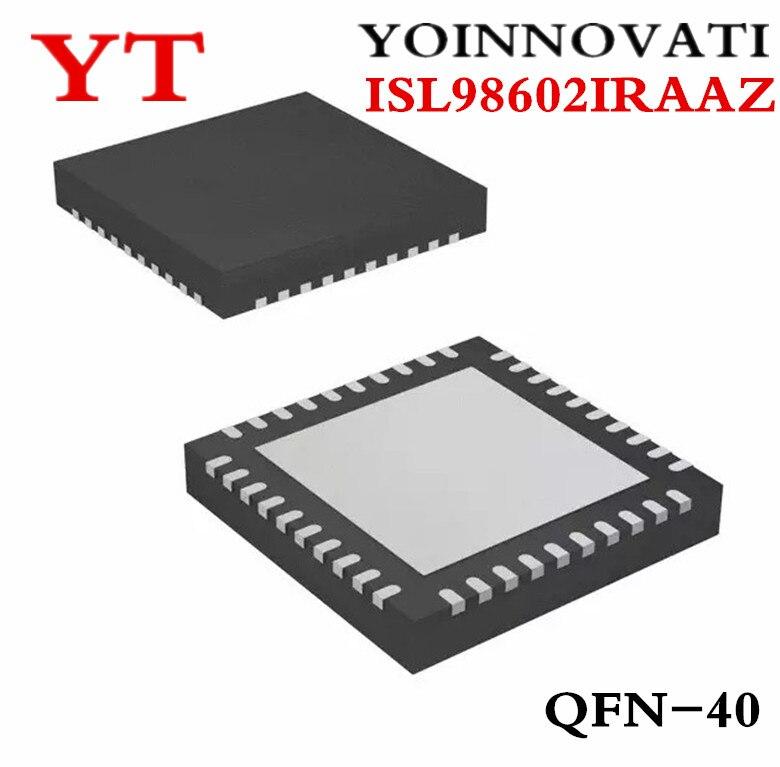 ISL98602IRAAZ ISL98602 ISL9860 2ираз QFN 5-канальный преобразователь постоянного тока/постоянного тока