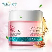 SOONPURE Red Ginseng Snail Eye Cream Ageless Products Skin Care Anti Puffiness Dark Circle Anti Wrinkle Whitening Moisturizing