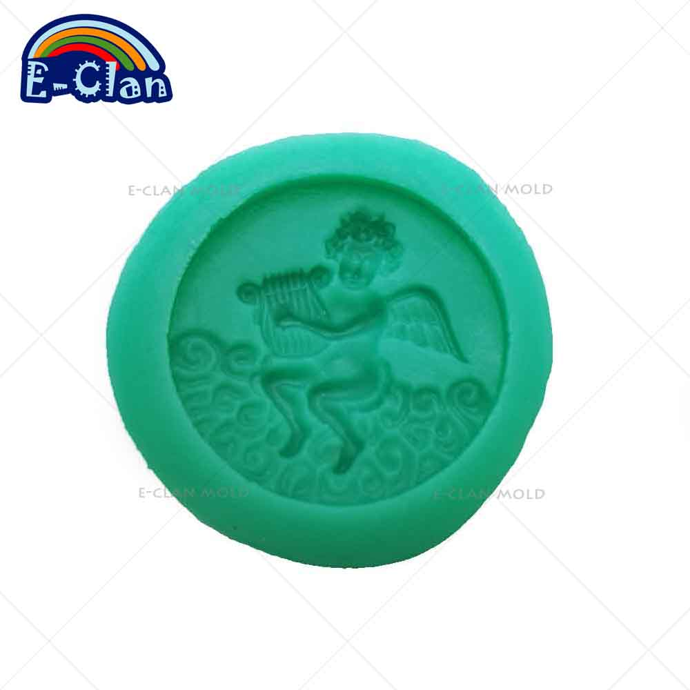New arrival Angel boy silicone fondant cake molds Chocolate chip ...