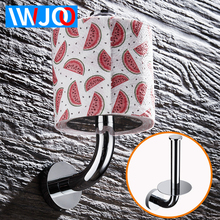 купить Bathroom Roll Paper Holder Decorative Stainless Steel Toilet Paper Holder Creative Paper Towel Holders Wall Mounted Storage Rack по цене 956.97 рублей