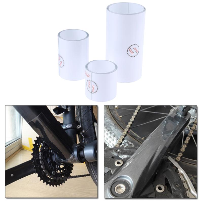 Cycling CrankSet Stickers Decals MTB Mountain Bike Bicycle Adhesive Transparent