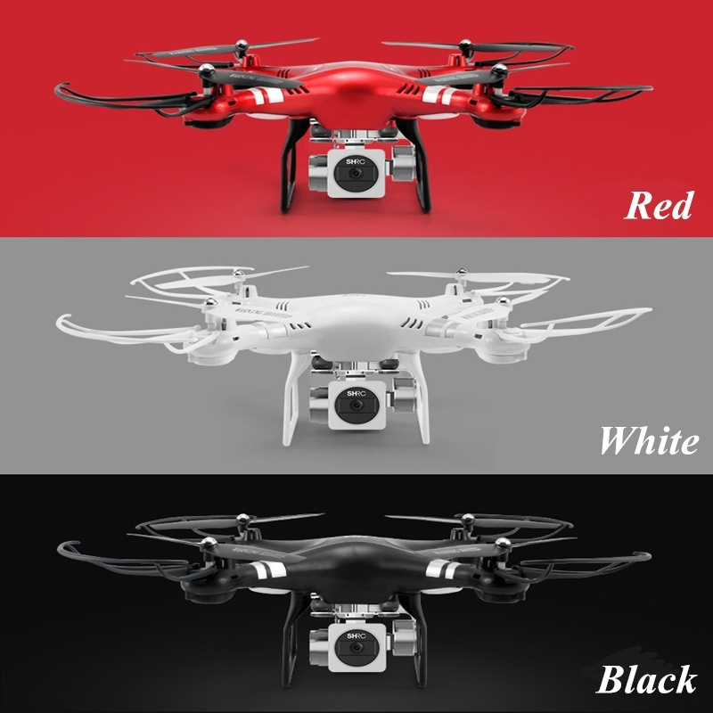 SH5H 2,4 г FPV Drone RC Quadcopter с 1080 P Широкий формат Wi-Fi HD Камера живое видео высота Удержание Headless режим один ключ возврата