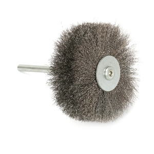 Image 5 - YEODA 1PC 105X82mm*6mm SS Steel Wires polished Head Brushes For Carving Burr Wood Mahogany Furniture Root Relief