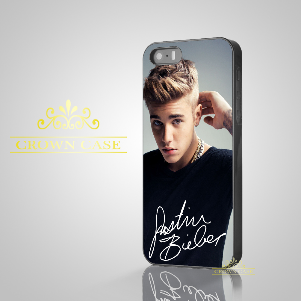 Coque Capa Justin Bieber Signature Phone Cases for iPhone 7 5S SE 5C 5 4S 4 6 6S 7 Plus Case for iPod Touch 5 iPod Touch 6 Case.