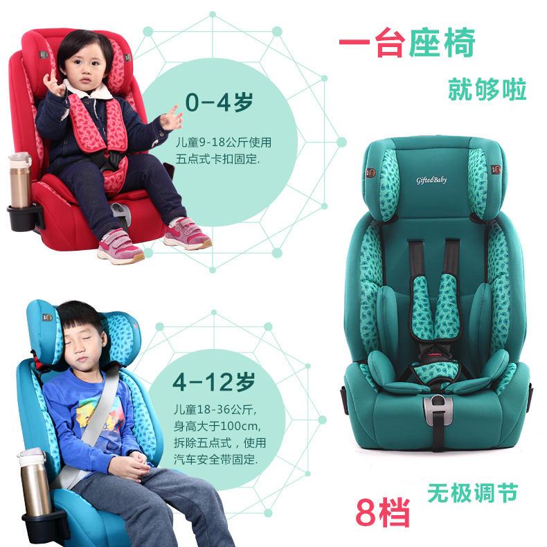 Child Safety Seat, Hard Isofix Interface, 9 Month Old 0 3 4 6 7 12 ...