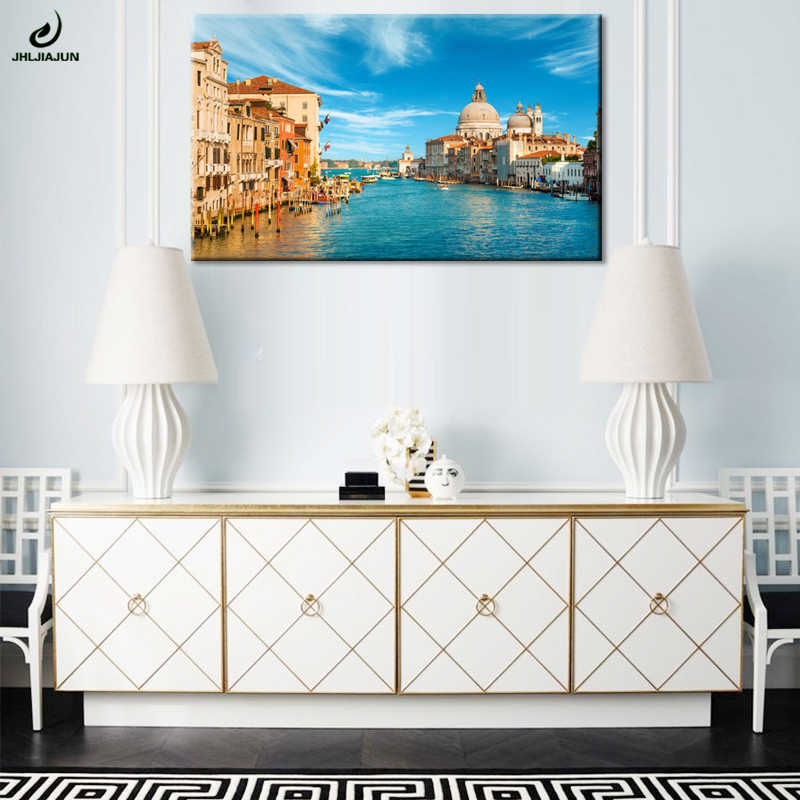 Fashion Wall Picture Grand C Venice Italy Photo Home Decor On Canvas Modern Art