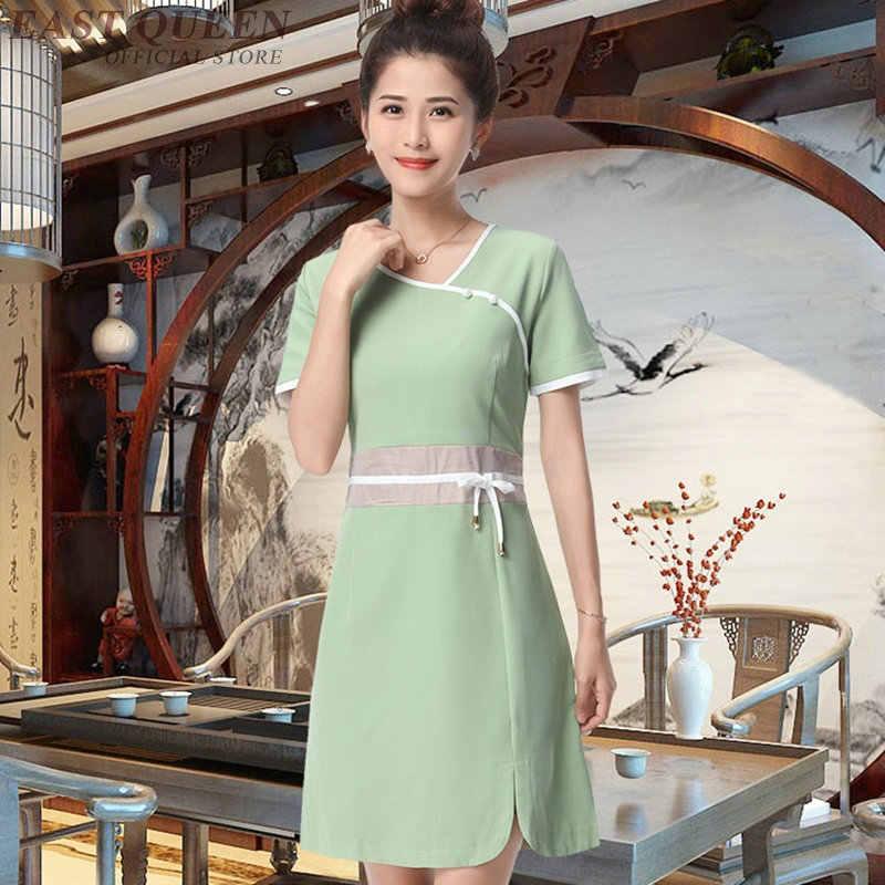 Spa masaj şevval özçelik üniforma güzellik salonu garson güzel klinik üniforma kadın tıbbi hastane giyim DD1389