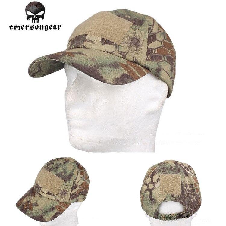 EMERSON Baseball Sport Cap Militärische Taktische Armee Kappe Anti-kratzen Gittergewebe Kryptek Mandrake 8736