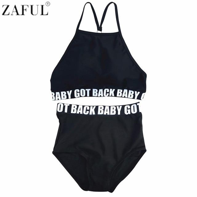 bc1da00a028 ZAFUL 2018 New Summer Sexy Letter Print High Waisted Graphic Women Bikini  Set Bathing Suits Swimwear Plus Size Swimsuit Biquini