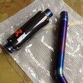 titanium alloy exhaust suit to Kawasaki Z750 04-08 exhaust system for Kawasaki Z750 2004 2005 2006 2007 2008