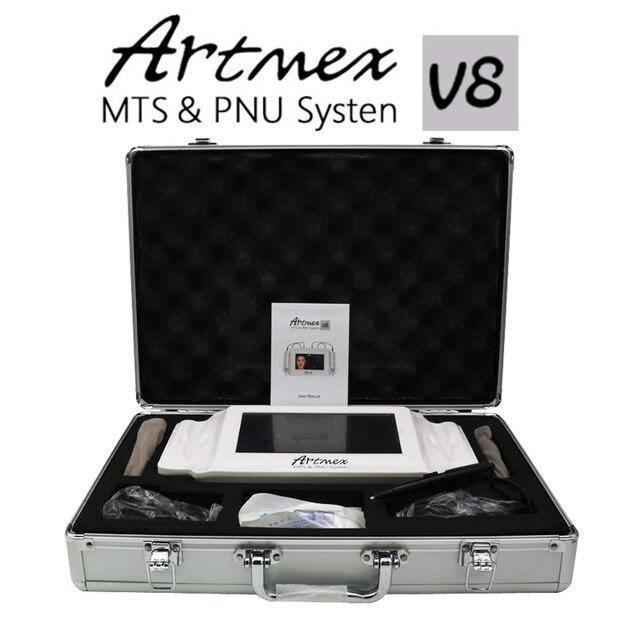 2019 High Quality Permanent Makeup Machine Digital Artmex V8 Tattoo Machine Derma Pen Pen MTS PMU System Professional Tattoo Gun