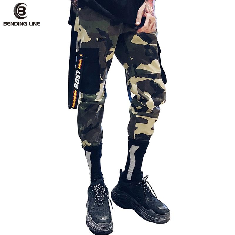 Pantalon Camouflage homme pantalon de jogging HIPHOP pantalon tactique pantalon Hip Hop décontracté coton Multi poches pantalon Streetwear taille américaine