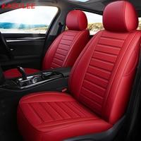 KADULEE custom leather car seat cover For kia k2 k3 k4 k5 kx3 kx5 kx7 Sportage Cadenza SHUMA Carens Borrego Sorento niro seats