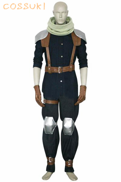 Newest High Quality Final Fantasy VII 7 Crisis Core Cloud Strife Uniform Cosplay Costume ,Perfect Custom For You !