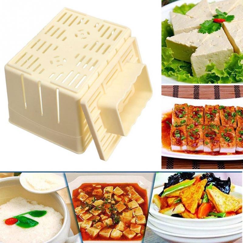 Tofu Maker Press Mold Kit Cheese Cloth DIY Soy Pressing Mould KitchenToolSeD/_X
