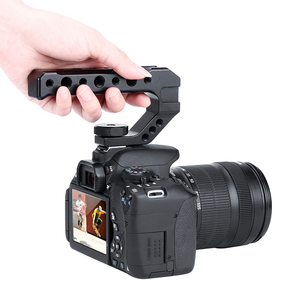 Image 1 - Uurig R005 Universele Dslr Top Handgreep Video Stabiliserende Extender W Koud Schoen Mounts Voor Monitoren Microfoons Led Video Licht