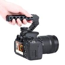 Uurig R005 ユニバーサルデジタル一眼レフトップハンドル安定化エクステンダーワットコールドシューマウントモニタマイク led ビデオライト