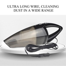 Portable Size 120W Powerfull Auto Car Vacuum Cleaner 12V Dual Use Wet/Dry Easy and Hassle-free Cleaning Process