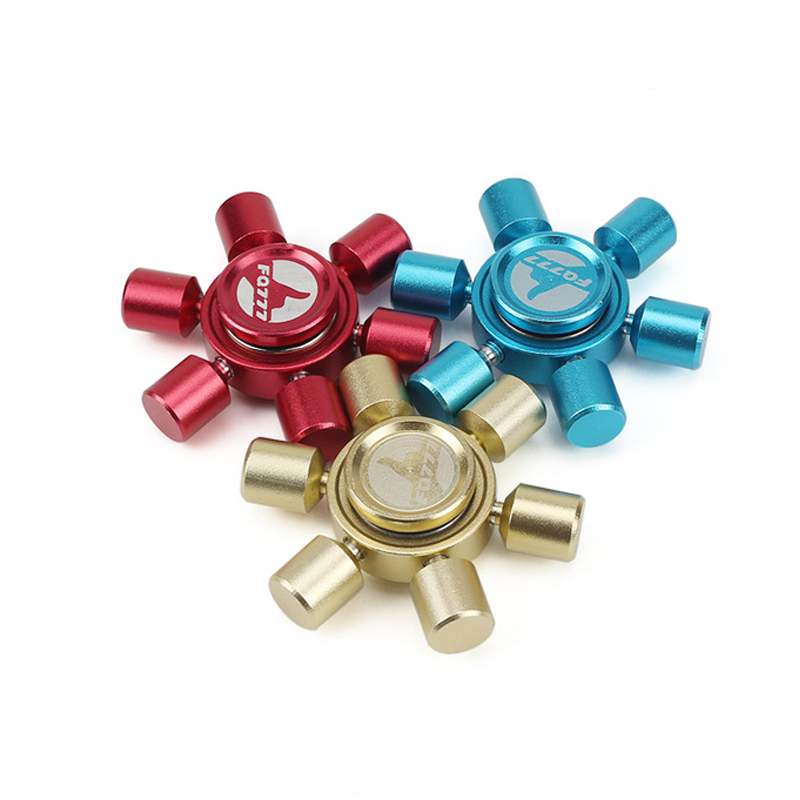 EDC Hand Spinner Fidget Spinner Metal HandSpinner Finger Tri-Spinner Stress Reliever Spinning Tops Toys For Autism and ADHD