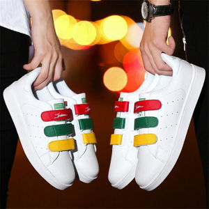 Women Flat casual shoes 2019 Lovers white shoes woman leather Unisex shoes trainer zapatos mujer zapatos hombre tenis feminino