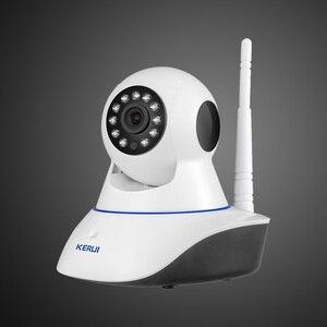 Image 3 - Sistema de Alarma de Casa inalámbrico Android IOS de seguridad APP Control 720P HD IP cámara inalámbrica Solar sirena Alarma cortina PIR Detector