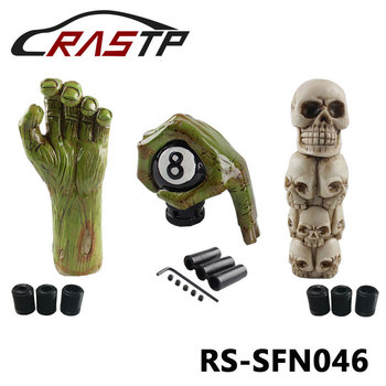 Universal Skull Head Style Car Truck Manual Stick Gear Shift Knob Lever Shifter Resin Shift knob Lever Stick Knob RS-SFN046