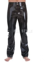 Latex Rubber Jeans With Front & Back Pockets