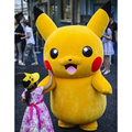 Pikachu Pokemon Mascot Costume Fancy Dress Outfit Free Shipping