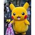 Pikachu pokemon traje de la mascota fancy dress outfit envío gratis